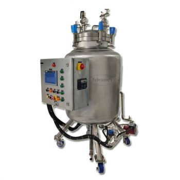 Automatic Bottom Driven Mixing Vessel